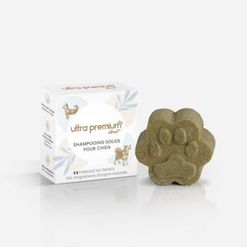 Shampooing solide pour chien